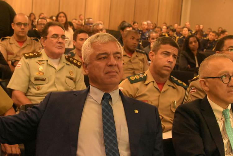 Líder do PSL também teceu críticas a Lula e ao presidente do STF | Foto: Filipe Augusto | Ag. A TARDE - Foto: Filipe Augusto | Ag. A TARDE