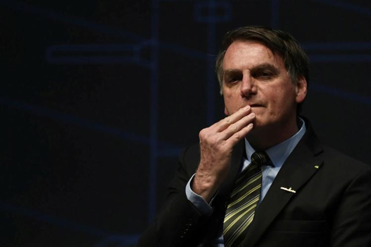 Presidente diz que, caso saia, a chance de criar novo partido é de 90%. Foto: Mauro Pimentel | AFP - Foto: Mauro Pimentel | AFP