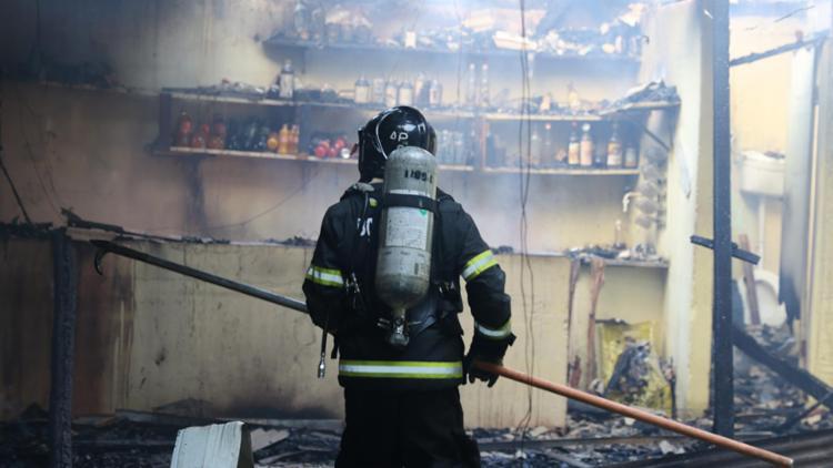 Não houve registro de vítimas | Foto: Divulgação | Corpo de Bombeiros - Foto: Divulgação | Corpo de Bombeiros