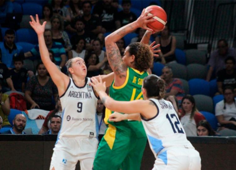 Seleção feminina bateu as argentinas por 77 a 55   Foto: Divulgação   CBB - Foto: Divulgação   CBB