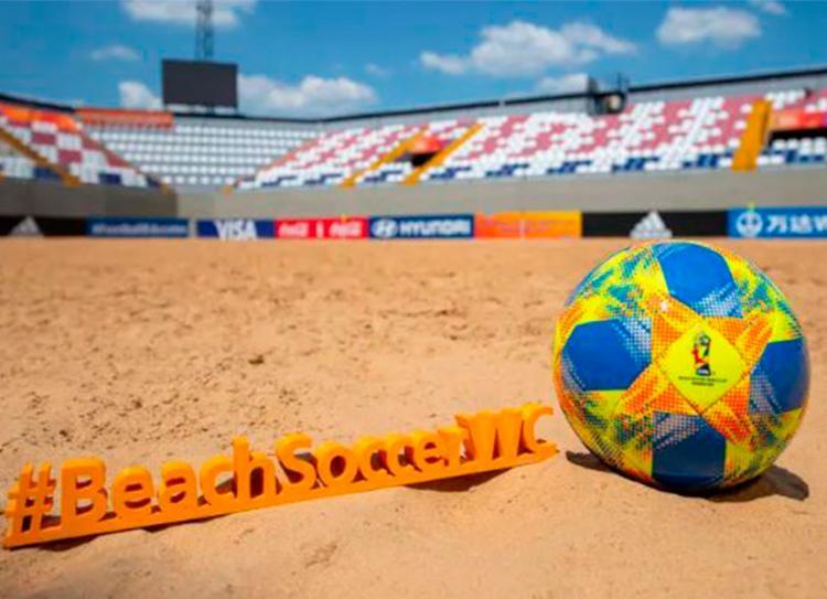 Copa do Mundo de Futebol de Areia será no Paraguai   Foto: Reprodução   Twitter - Foto: Reprodução   Twitter