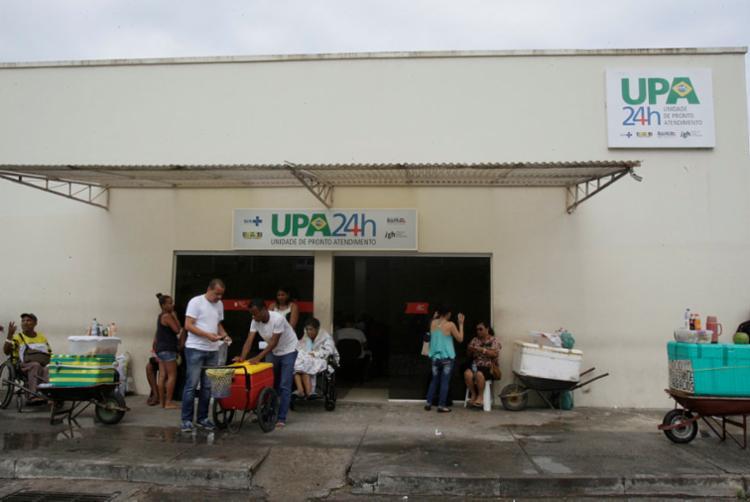O instituto informou que a unidade possui 24 leitos e o número de pacientes era de 36 pessoas aguardando encaminhamento | Foto: Margarida Neide | Ag. A Tarde - Foto: Margarida Neide | Ag. A Tarde