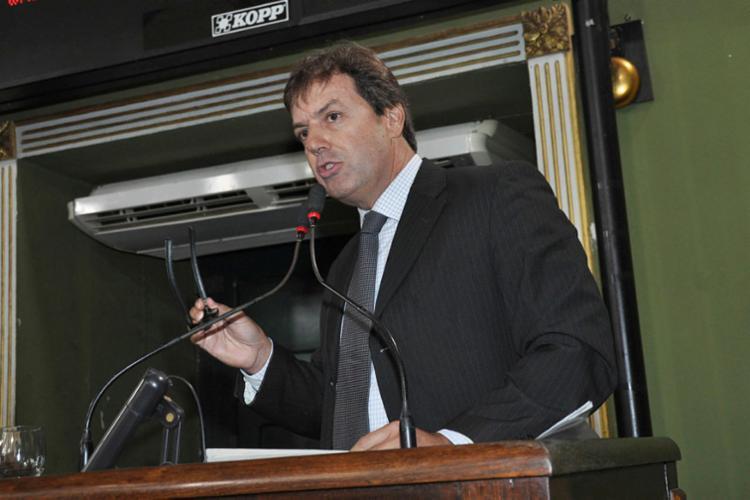 Atualmente sem partido, vereador Trindade deve desembarcar na legenda socialista. Foto: Valdemiro Lopes   CMS - Foto: Valdemiro Lopes   CMS