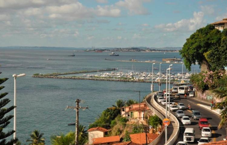 Tráfego será proibido na Av. Contorno durante o evento   Foto: Alex Oliveira   SeturBahia - Foto: Alex Oliveira   SeturBahia
