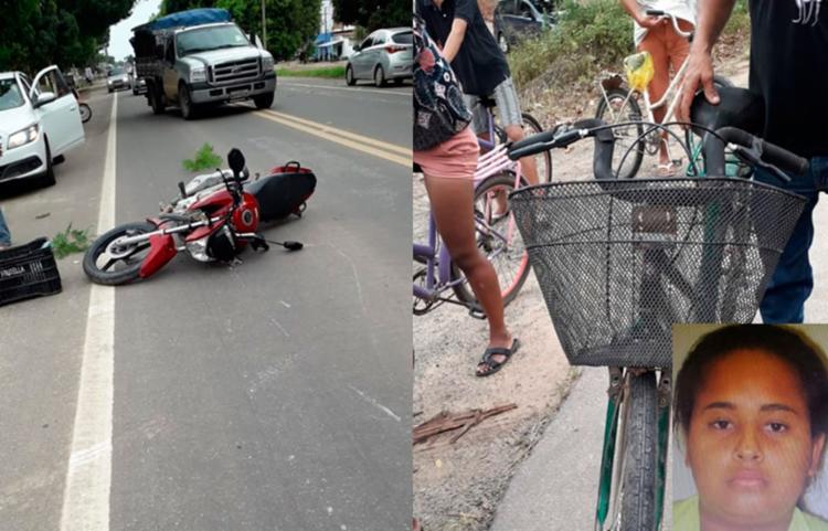 Vítima foi socorrida, mas não resistiu aos ferimentos | Foto: Reprodução | Teixeira Hoje - Foto: Reprodução | Teixeira Hoje