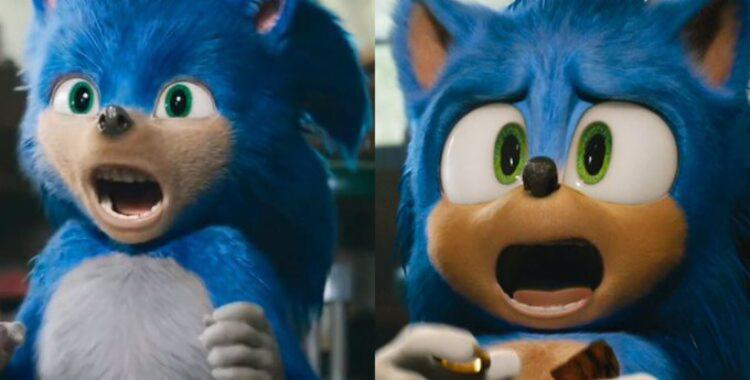 Trailer com o visual antigo (à esquerda) foi retirado do ar para produtora do filme repensar o modelo | Foto: Reprodução | YouTube - Foto: Reprodução | YouTube
