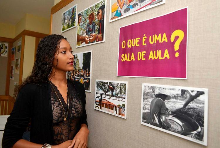 Para Nathiele Lima, integrante de movimento que luta por educação , a busca por direitos é uma luta constante | Foto: Shirley Stolze | Ag. A TARDE - Foto: Shirley Stolze | Ag. A TARDE