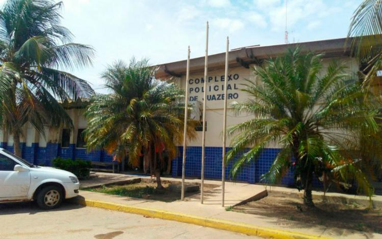 Suspeito confessou o crime no Complexo Policial de Juazeiro | Foto: Reprodução - Foto: Reprodução