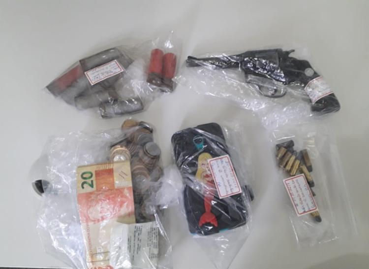 Armas e munições foram apreendidas na ação | Divulgação | SSP - Foto: Divulgação | SSP