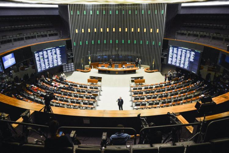 23 dos 53 deputados do PSL pediram ressarcimento de R$ 730 mil por contratos com empresas inexistentes - Foto: Antonio Cruz | Agência Brasil