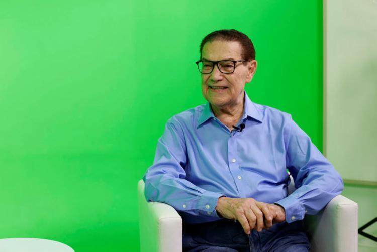 Divaldo Franco é professor, médium e conferencista | Foto: Raul Spinassé | Ag. A TARDE - Foto: Raul Spinassé | Ag. A TARDE