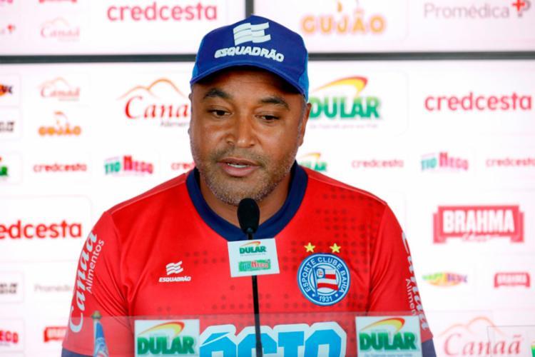 Bahia de Roger não vence a seis rodadas | Felipe Oliveira | EC Bahia - Foto: Felipe Oliveira | EC Bahia