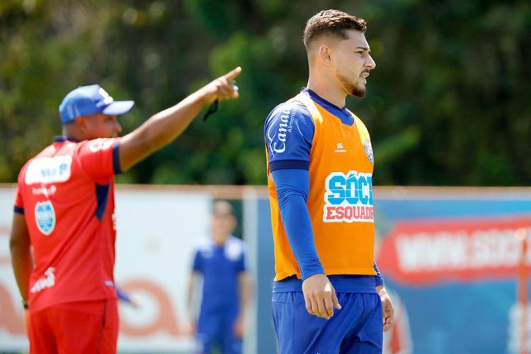 Lateral João Pedro foi titular nas duas últimas partidas do Tricolor | Felipe Oliveira | EC Bahia - Foto: Felipe Oliveira | EC Bahia