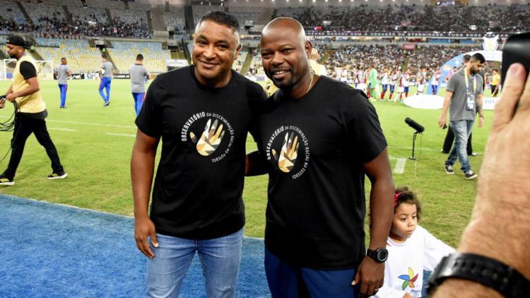 Recentemente, Roger Machado e Marcão promoveram uma campanha contra o racismo   Foto: Mailson Santana   Fluminense FC - Foto: Mailson Santana   Fluminense FC