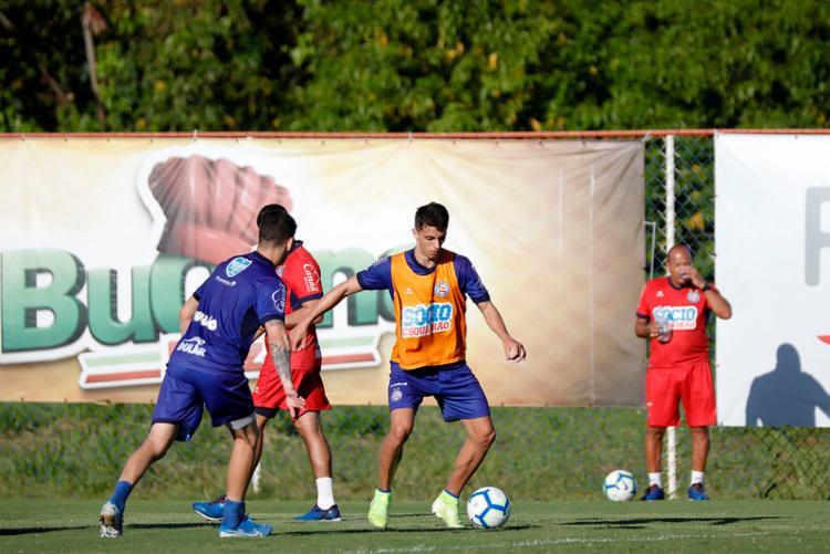 Tricolor vai em busca do triunfo contra o CSA | Felipe Oliveira | EC Bahia - Foto: Felipe Oliveira | EC Bahia