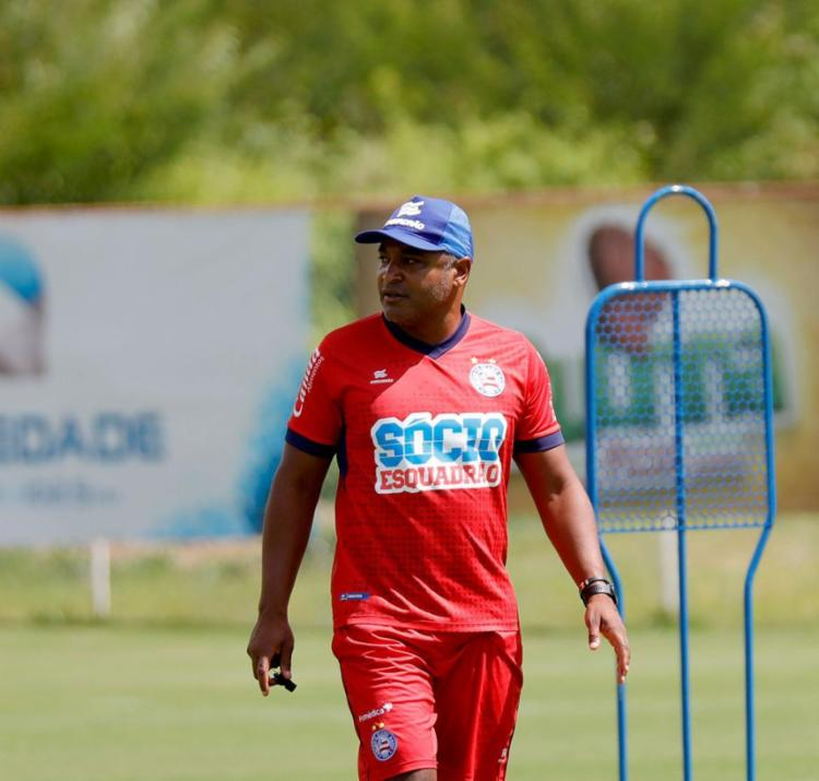 Treinador tenta fazer equipe reagir após longa sequência negativa | Felipe Oliveira | EC Bahia - Foto: Felipe Oliveira | EC Bahia