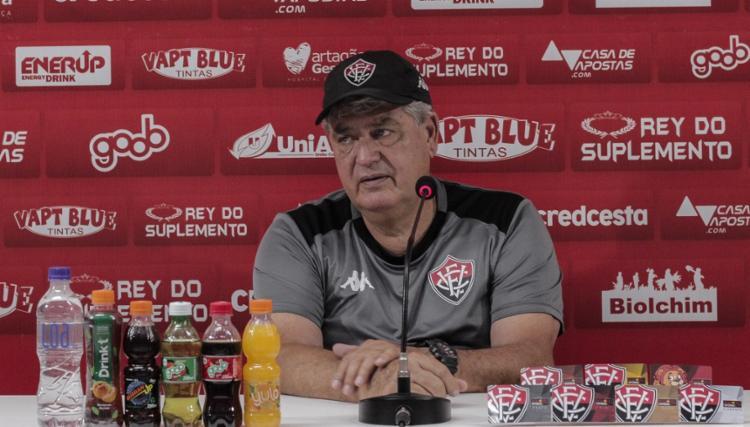 Geninho tinha proposta para ser diretor de futebol do Avaí   Foto: Letícia Martins   EC Vitória - Foto: Letícia Martins   EC Vitória
