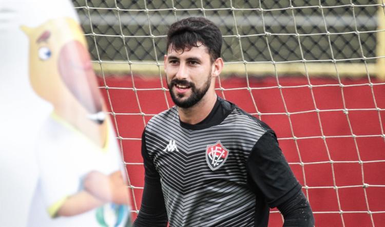 O goleiro tem contrato com a equipe baiana até a próxima temporada | Foto: Letícia Martins | EC Vitória - Foto: Letícia Martins | EC Vitória
