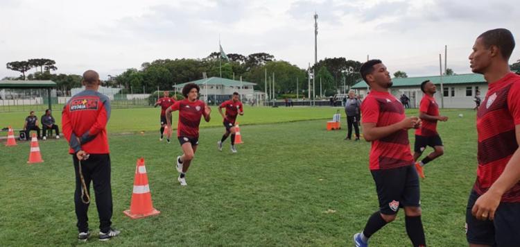 Leão concluiu a preparação no CT do Coritiba | Foto: Divulgação | EC Vitória - Foto: Divulgação | EC Vitória