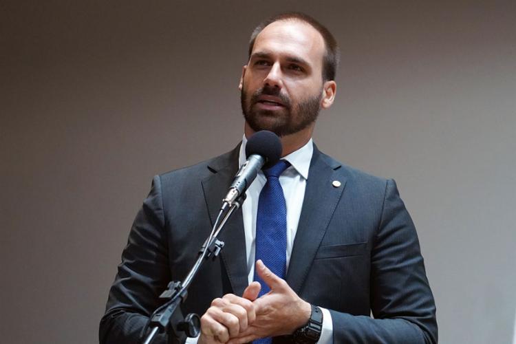 Deputado fez alusão ao retorno do AI-5 | Foto: Pablo Valadares | Câmara dos Deputados - Foto: Pablo Valadares | Câmara dos Deputados
