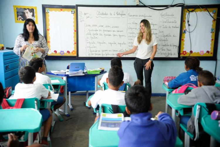levantamento aponta que 95,3% das crianças e adolescentes entre 4 e 17 anos frequentam regularmente a escola | Foto: Tânia Rêgo | Agência Brasil - Foto: Tânia Rêgo | Agência Brasil