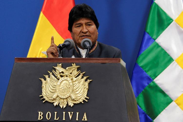 Presidente boliviano também anunciou que irá substituir os atuais membros do Tribunal Superior Eleitoral | Foto: Jorge Bernal | AFP - Foto: Jorge Bernal | AFP
