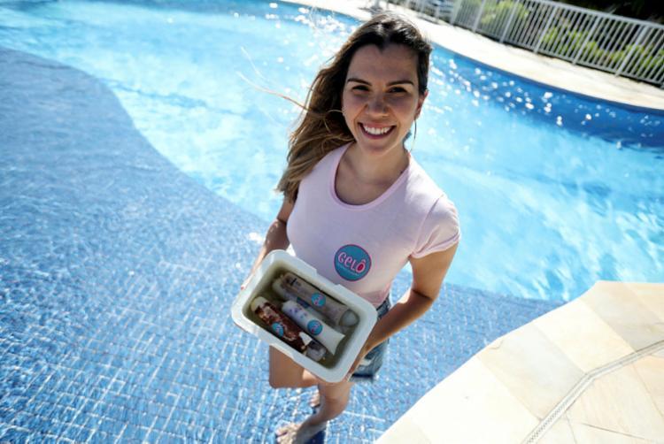 Lorena lança novos sabores de geladinho no verão | Foto: Felipe Iruatã | Ag. A TARDE - Foto: Felipe Iruatã | Ag. A TARDE