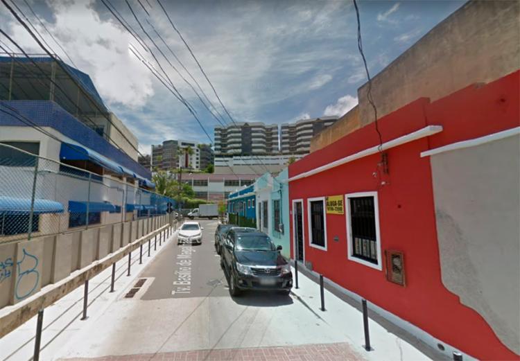 Travessa Basílio de Magalhães, no Rio Vermelho é um dos pontos que passam por alterações | Foto: Reprodução | Google - Foto: Reprodução | Google