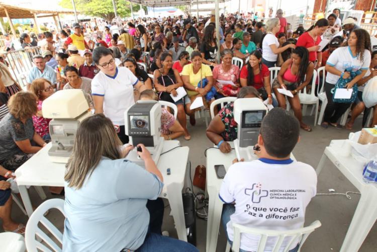 A ação deverá realizar no município mais de 15 mil atendimentos para os mais diversos tipos de exames e procedimentos. - Foto: Elói Corrêa_GOVBA