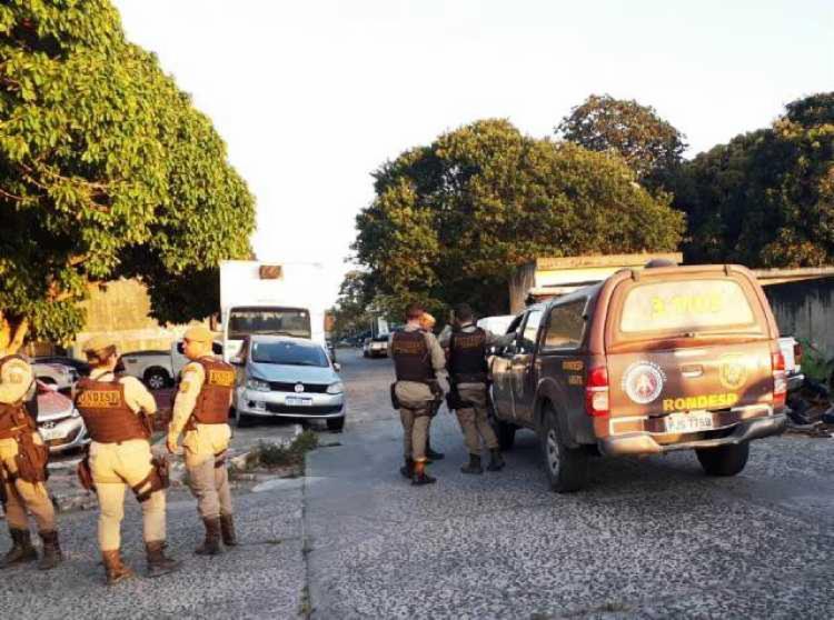 Troca de tiros aconteceu durante a madrugada | Foto: Aldo Matos | Acorda Cidade - Foto: Aldo Matos | Acorda Cidade