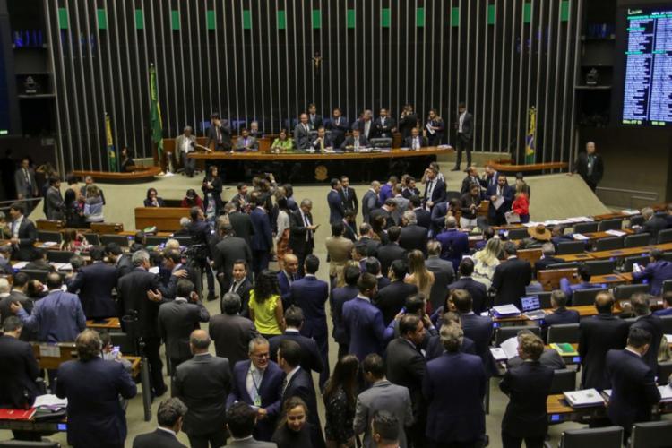 O texto foi aprovado na forma de um projeto de lei de conversão e segue agora para o Senado. Foto: Fabio Rodrigues Pozzebom | Agência Brasil - Foto: Fabio Rodrigues Pozzebom | Agência Brasil