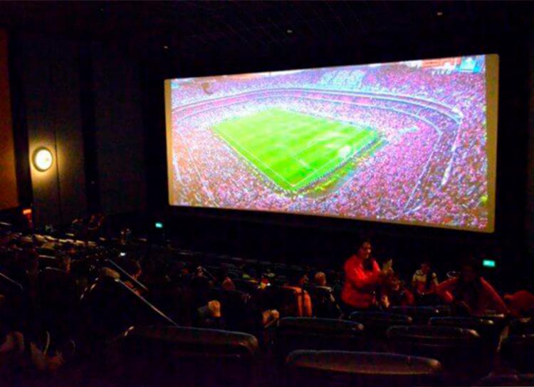 Partida terá exibição em quatro cinemas da capital baiana - Foto: Divulgação