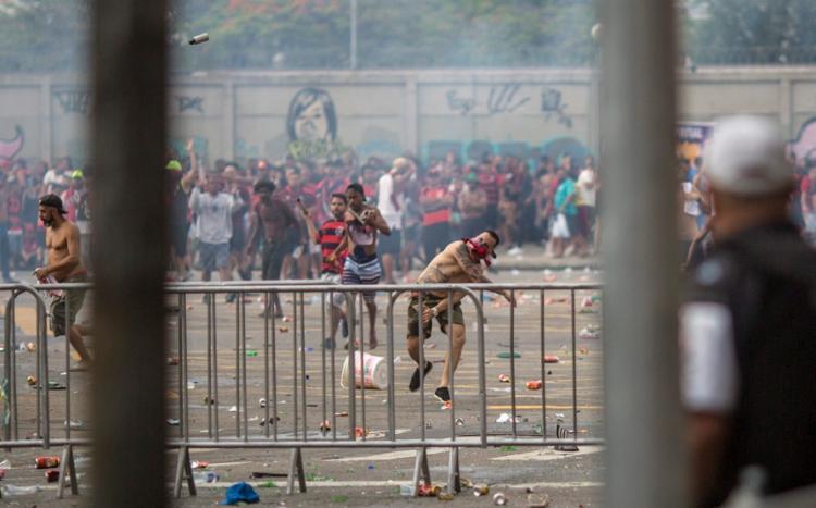 As causas do confronto ainda não são conhecidas | Foto: Daniel Ramalho | AFP - Foto: Daniel Ramalho | AFP
