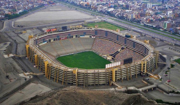 A partida foi transferida para o Estádio Monumental de Lima, no Peru - Foto: Divulgação