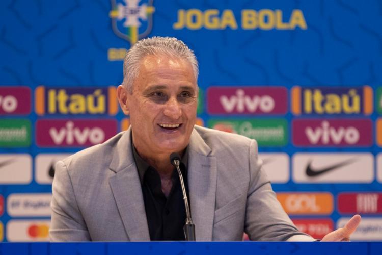 Depois de ter assumido o comando do time nacional, o treinador conduziu a equipe a uma grande campanha nas Eliminatórias da Copa | Foto: Lucas Figueiredo | CBF - Foto: Lucas Figueiredo | CBF