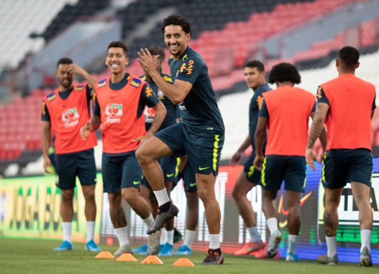 Seleção enfrenta a Coreia do Sul, nesta terça-feira, 19, a partir das 10h30 | Foto: Lucas Figueiredo | CBF - Foto: Lucas Figueiredo | CBF