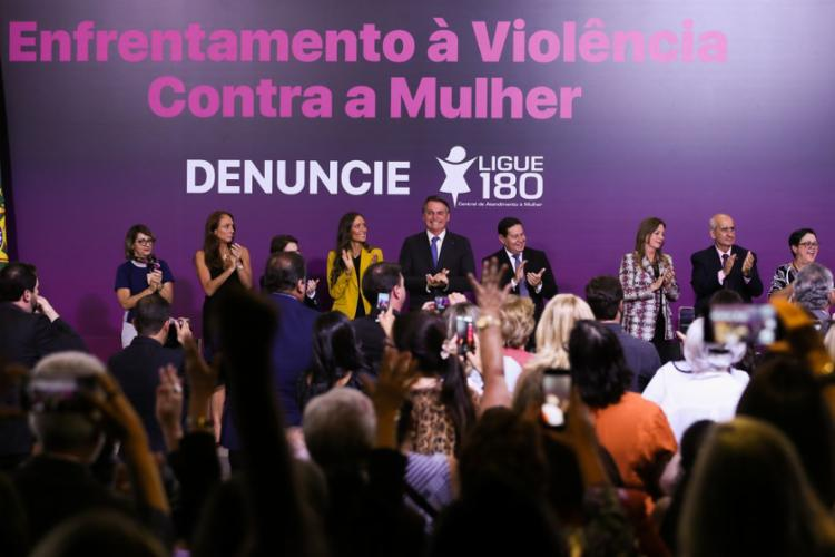 O anúncio foi feito durante solenidade, no Palácio do Planalto, em alusão ao Dia Internacional da Não-Violência contra a Mulher   Foto: Valter Campanato   Agência Brasil - Foto: Valter Campanato   Agência Brasil