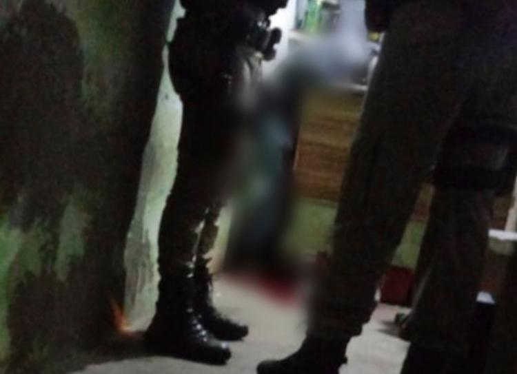Crime aconteceu em um estabelecimento comercial na rua Jovino Oliveira | Foto: Reprodução | Blog do Anderson - Foto: Reprodução | Blog do Anderson