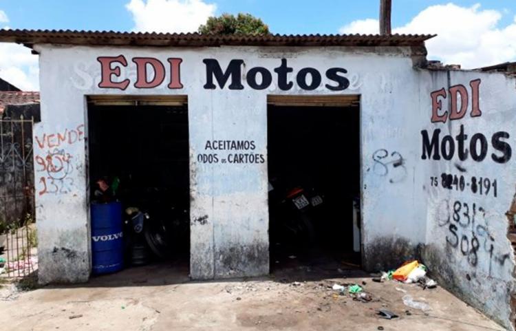 Mecânico foi executado dentro do estabelecimento onde trabalhava   Foto: Aldo Matos   Acorda Cidade - Foto: Aldo Matos   Acorda Cidade