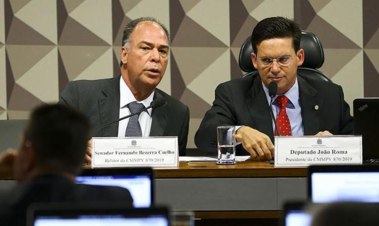 Deputado federal João Roma (à dir.) - Foto: Marcelo Camargo | Agência Brasil