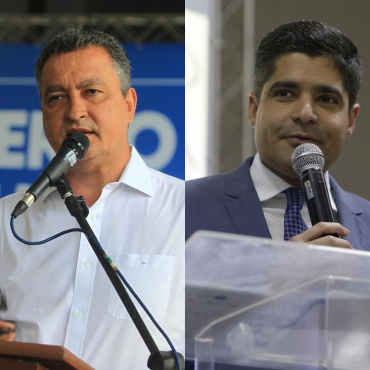 Os dois serão os grandes cabos eleitorais de 2020 em Salvador | Foto: Raul Spinassé | Ag. A TARDE e Manu Dias | GOVBA - Foto: Raul Spinassé | Ag. A TARDE e Manu Dias | GOVBA