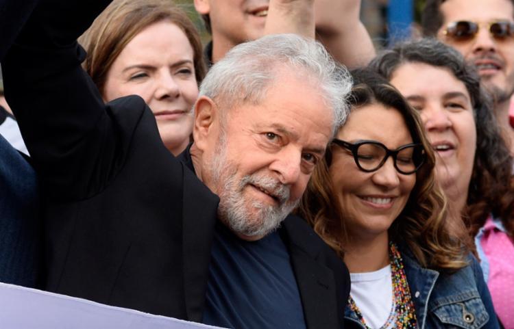Ex-presidente foi solto nesta sexta-feira, 8 | Foto: HENRY MILLEO | AFP - Foto: HENRY MILLEO | AFP