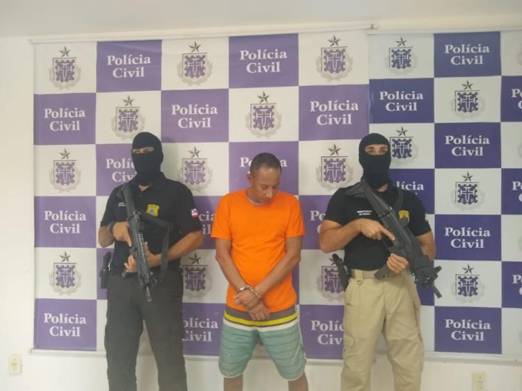 Sebastião responde por homicídio qualificado e ocultação de cadáver   Foto: Divulgação   SSP - Foto: Divulgação   SSP