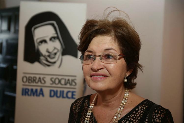 Maria Rita está à frente da Osid desde 1989 | Foto: Joá Souza | Ag. A TARDE - Foto: Joá Souza | Ag. A TARDE