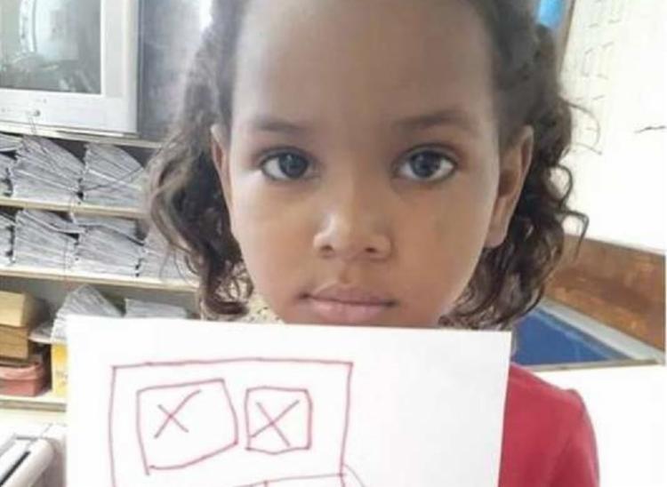 Criança estava a caminho da escola quando foi atingida | Foto: Reprodução | Arquivo pessoal - Foto: Reprodução | Arquivo pessoal