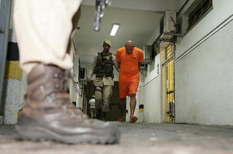 Barbeiro Paulo Sérgio Ferreira de Santana foi condenado a 22 anos e um mês de reclusão | Foto: Raul Spinassé | Ag. A TARDE - Foto: Raul Spinassé | Ag. A TARDE