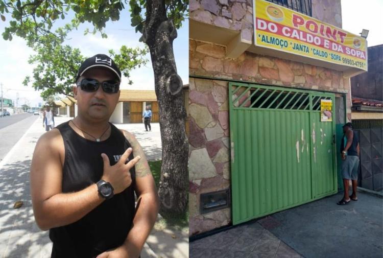 O policial militar estava em um restaurante localizado no bairro Gleba C, onde foi atingido por disparos de arma de fogo   Foto: Reprodução - Foto: Reprodução