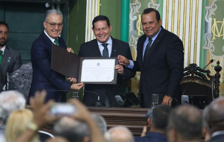 Mourão afirmou que, com o título, reforçará sua defesa pela cidade | Foto: Raul Spinassé | Ag. A TARDE - Foto: Raul Spinassé | Ag. A TARDE