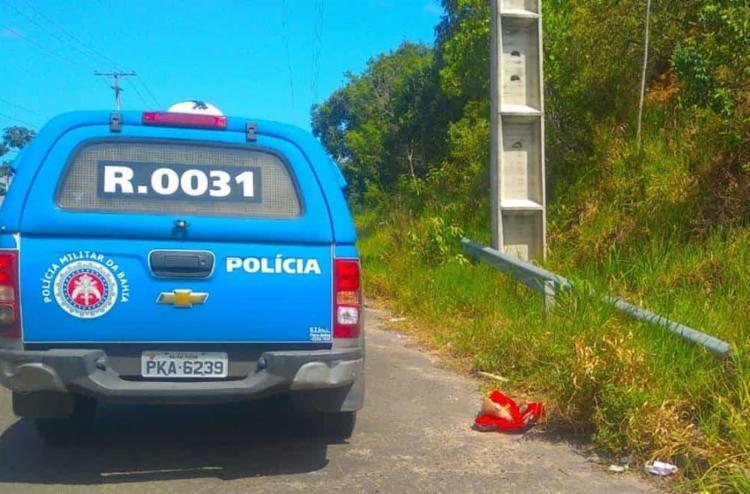 Polícia esteve no local após ser acionada por populares | Foto: Reprodução/Simões Filho Online - Foto: Reprodução | Simões Filho Online
