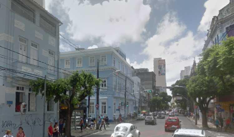 Caminhada deve seguir até a praça municipal   Foto: Reprodução   Google Street View - Foto: Reprodução   Google Street View